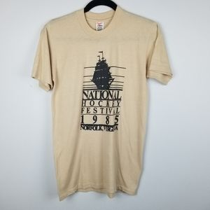 National Hockey Festival 80's Vintage Tshirt